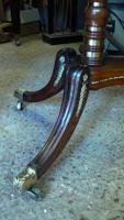 Replacement of missing ormolu mouldings on Regency Sofa Table
