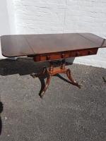 Regency Sofa Table restored