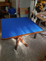 New baize top for Regency Card Table